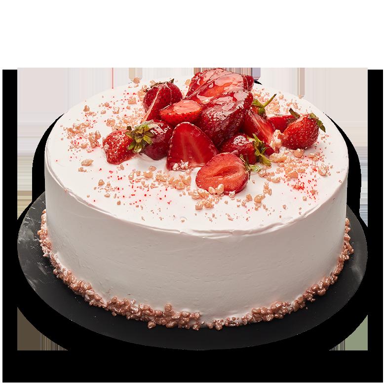 tort iaurt și căpsuni