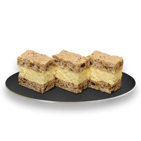 prăjituri de casă cu cremă de vanilie